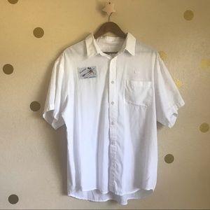 Disney Vintage Uniform Shirt. Worldwide Services.